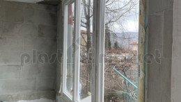 Кухненски прозорец троен Aluplast Ideal 4000 Пласт Маркет