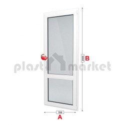 Балконска врата Trocal ECONOMY – 70 мм с едноосов механизъм