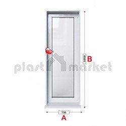 Балконска врата Baufen Ultima 70 - 70 мм с едноосов механизъм