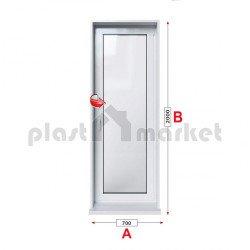 Балконска врата KMG Prestige 70 - 70 мм с едноосов механизъм
