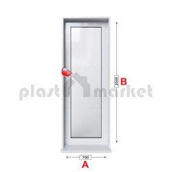 Балконска врата Veka Softline 70 - 70 мм с едноосов механизъм