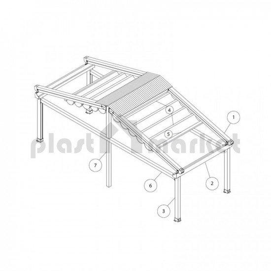 Покривна система Flat Harmony series 150