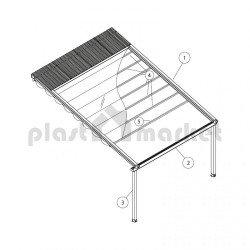 Покривна система Flat series 150