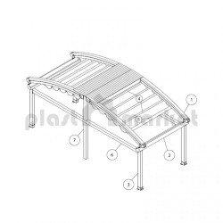 Покривна система Spline Harmony series 150