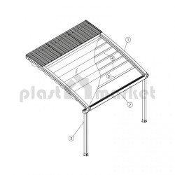 Покривна система Spline series 150