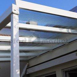 Покриви и навеси от стъкло - по поръчка