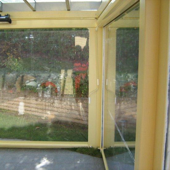 Ветрозащитна завеса тип Пинто с кутия