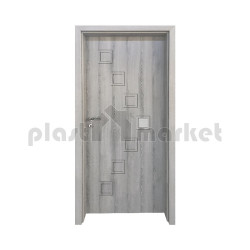 Интериорна врата Gradde Zwinger, модел 1, цвят Ясен Вералинга