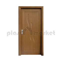 Интериорна врата 014-P златен дъб