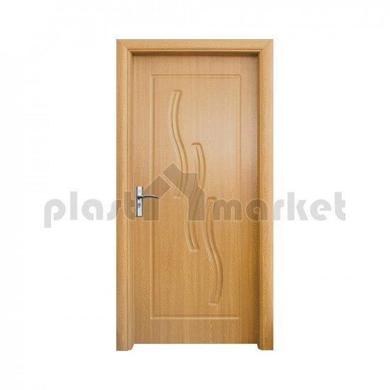 Интериорна врата 014-P светъл дъб