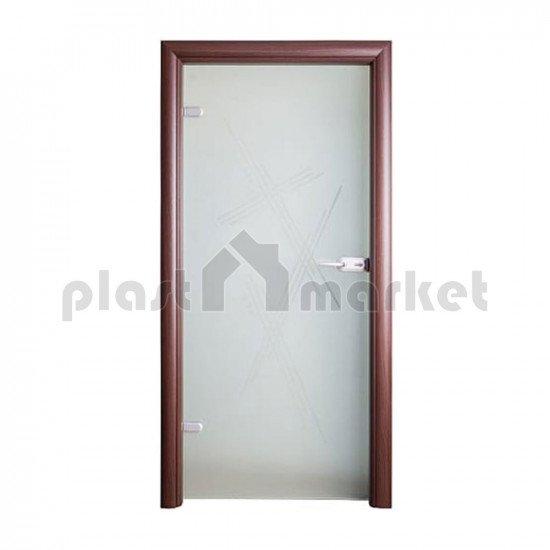 Стъклена интериорна врата 003