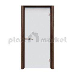 Стъклена интериорна врата 001