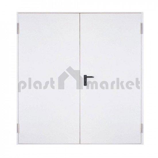 Двукрилна пожароустойчива врата EI60 160 (80+80)/205 см. - на склад