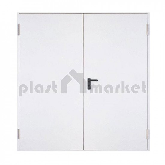 Двукрилна пожароустойчива врата EI60 115 (80+35)/205 см. - по поръчка