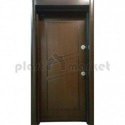 Блиндирана врата Паркдор СЛ-05 Орех