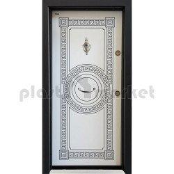 Блиндирана врата Паркдор СЛ-100 Бяла перла