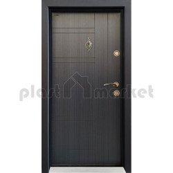 Блиндирана врата Паркдор СЛ-101 Черна перла