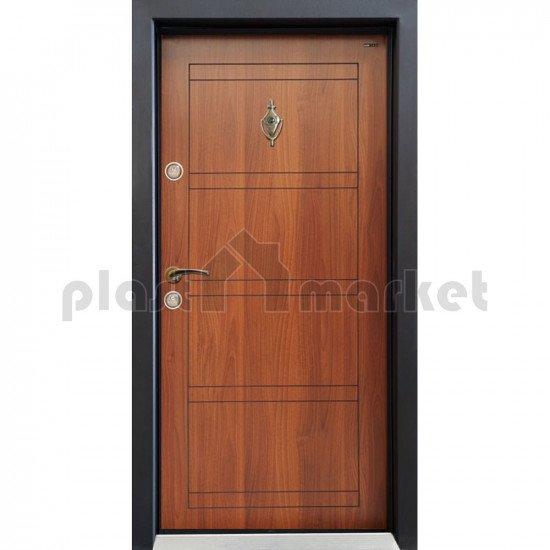 Блиндирана врата ЧекАп Сл-102 Металик