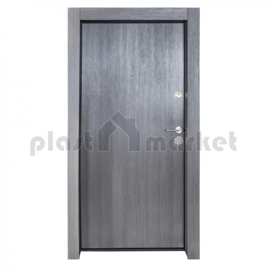 Блиндирана врата Solid 55 Фери F50, цвят Черен дъб