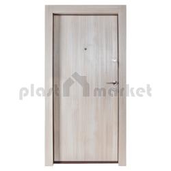 Блиндирана врата Solid 55 Фери F50, цвят Снежен дъб