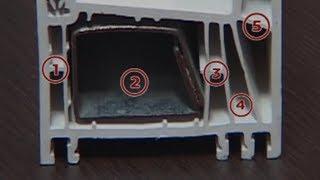 5 камерен PVC профил