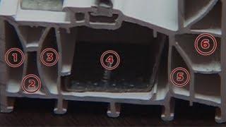 6 камерен PVC профил